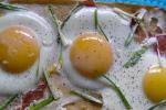 Breakfast Pizza Eggs Gluten Free Chickpea Crust