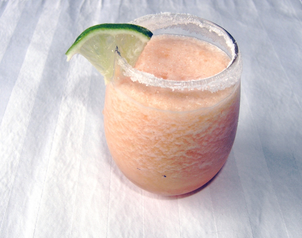 Cantaloupe Agave Margaritas | Cooking in Red Socks