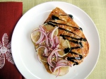Honey Citrus Snapper with Balsamic Glaze