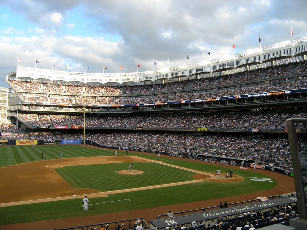Yankee Stadium Baseball Bucket List