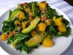 Sprout, Squash, & Pancetta Salad