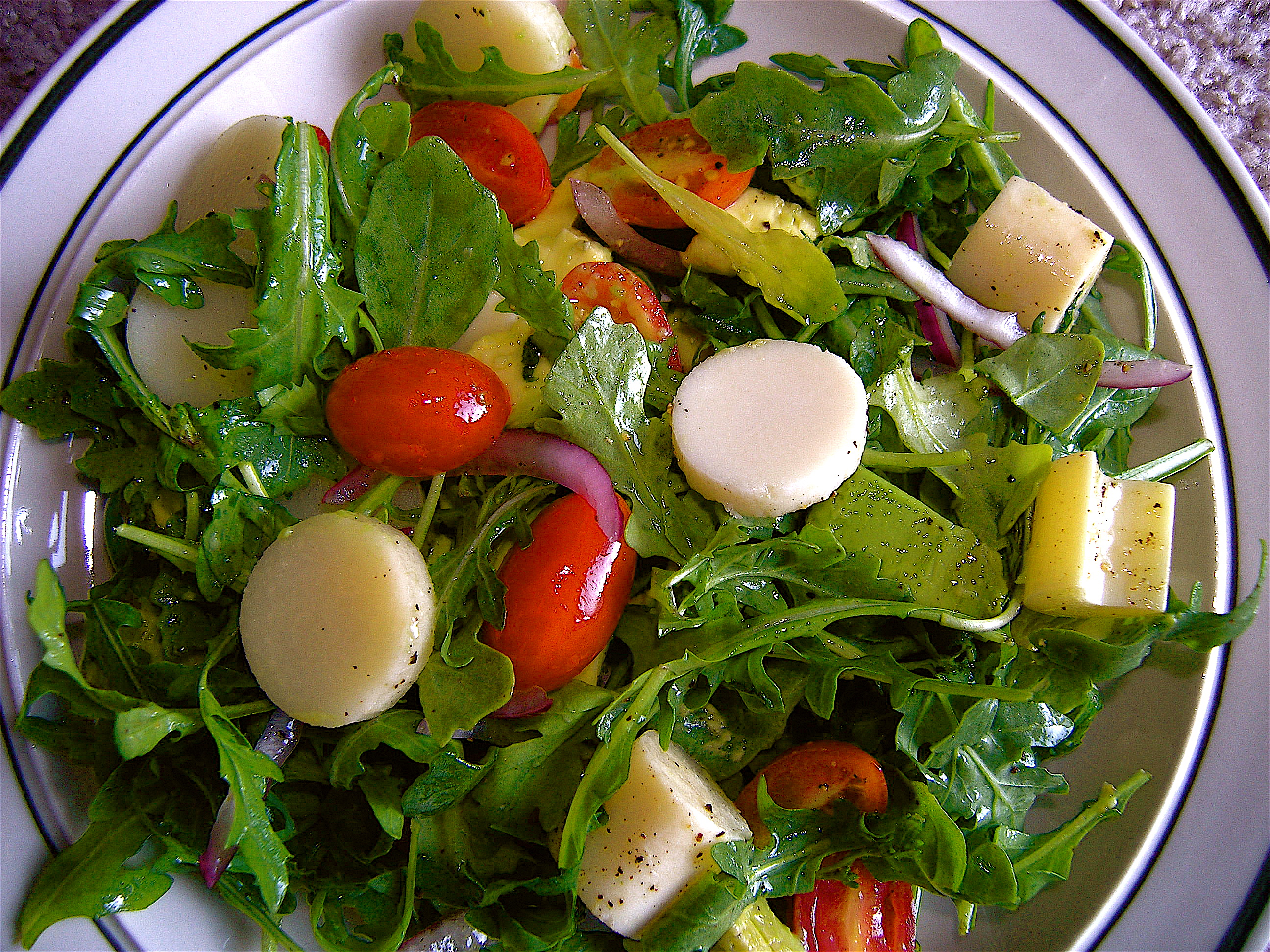 Hearts of Palm, Avocado, and Tomato Dinner Salad   Cooking