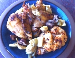 Chicken with Artichokes & Mushrooms
