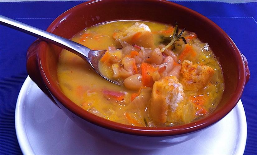 Tuscan White Bean Soup Italian